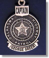 Oklahoma Highway Patrol Oklahoma Police Badge Charms