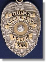 Winston Salem North Carolina Sheriff Badge Charms