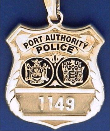 Port Authoriy Police New York Charms