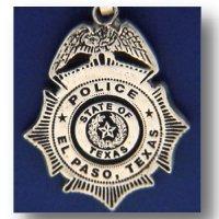 El Paso Texas Police Badge Charms