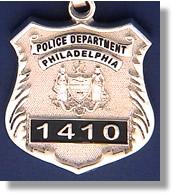 Philadelphia pennsylvania police badge charms philadelphia police aloadofball Choice Image